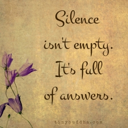 Silence-isnt-empty