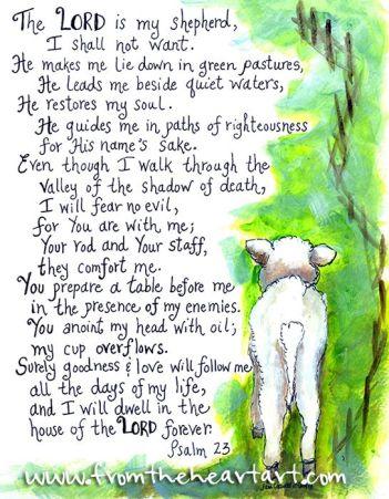 Psalm23art