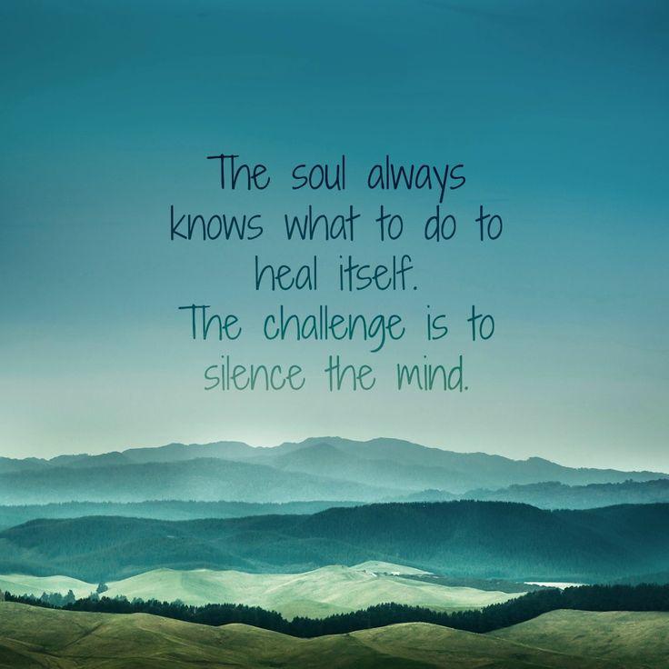 silence heals