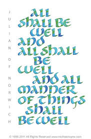 all shall be well1