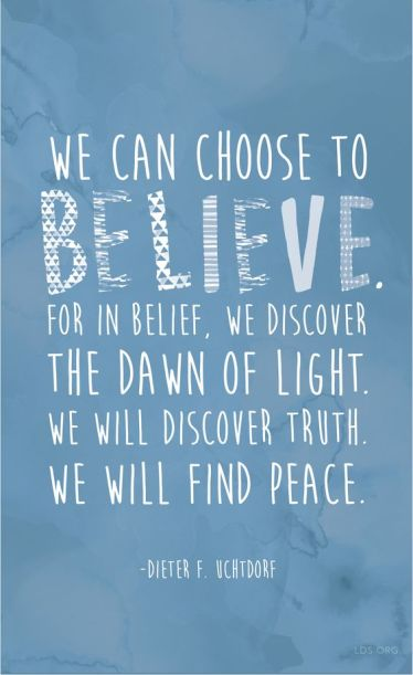 choose belief