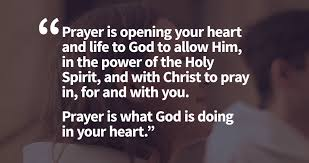 prayer in heart