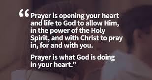 prayer in heart
