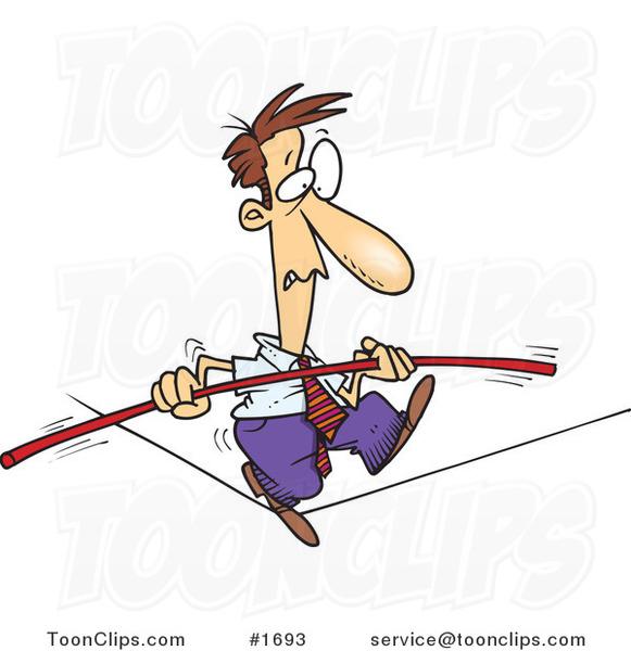 balance cartoon