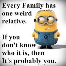 weird family