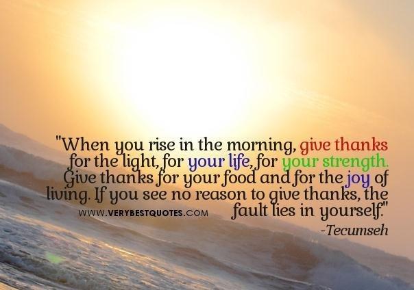 give thankws