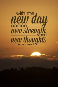 new day Eleanor Roosevelt