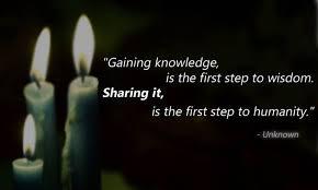 share wisdom