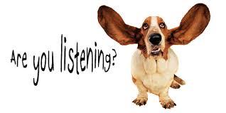 listenintg-dog