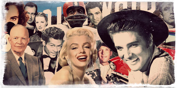 1950s-Collage
