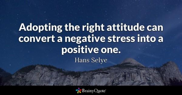 stress positive