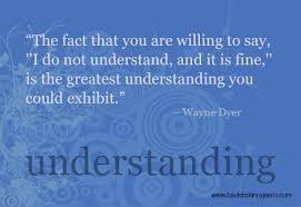 understanding a lot