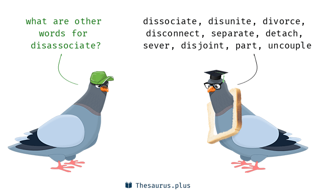 disassociate