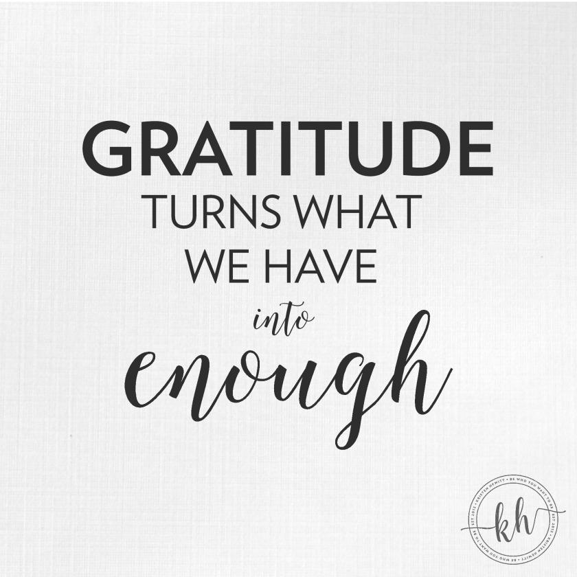 gratitude-enough
