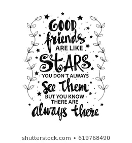 good-friends-like-stars-you-260nw-619768490