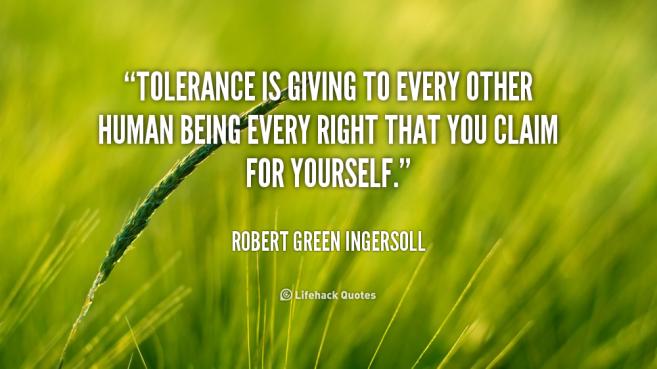 tolerance-is