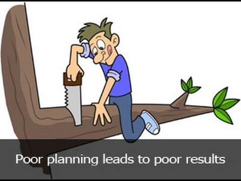 poor planning