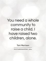 raising alone