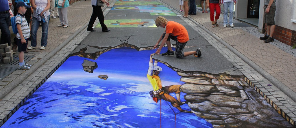 The 5 Most Stunning Types of Artistic Optical Illusions